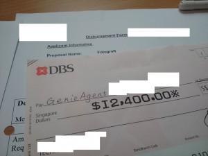 Milestone Payment!