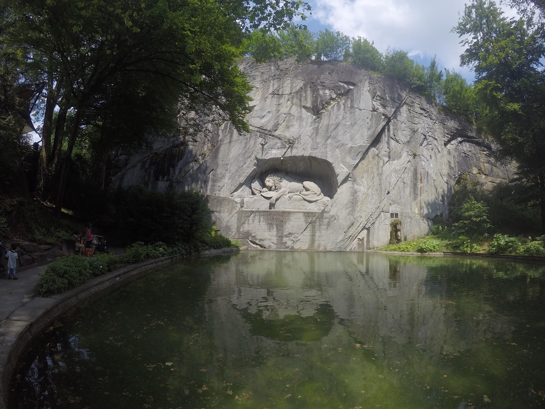 The Lion of Lucerne, Lion Monument.