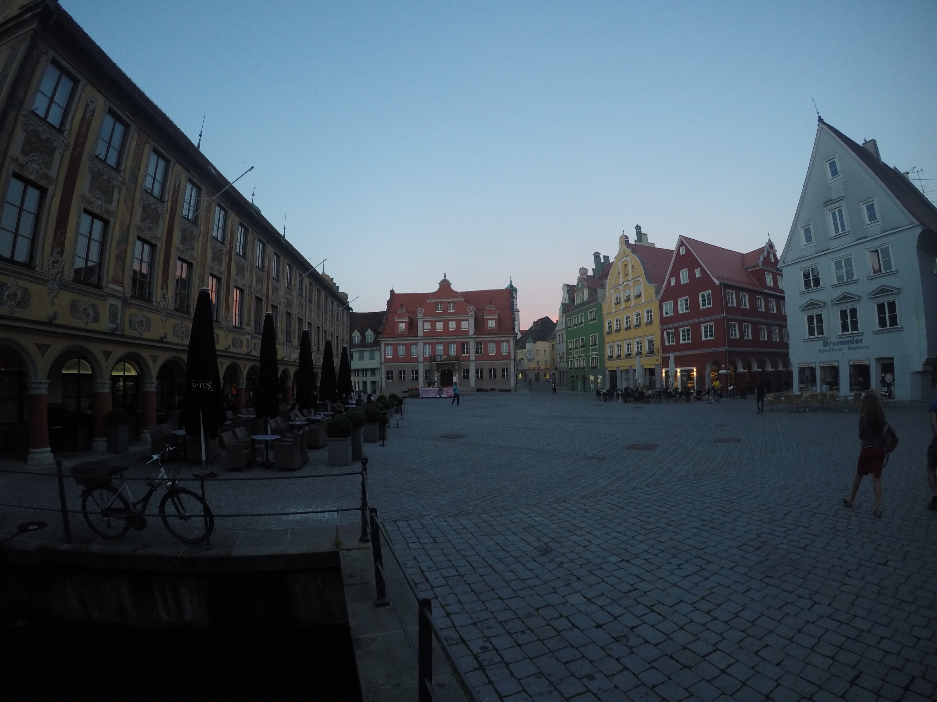 Exploring streets of Fussen, Germany