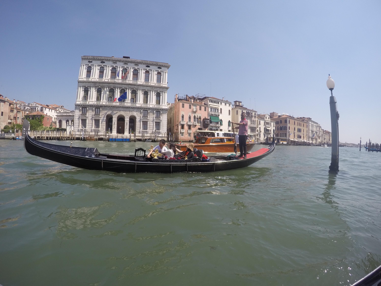 Exploring Venice on a Gondola!!!