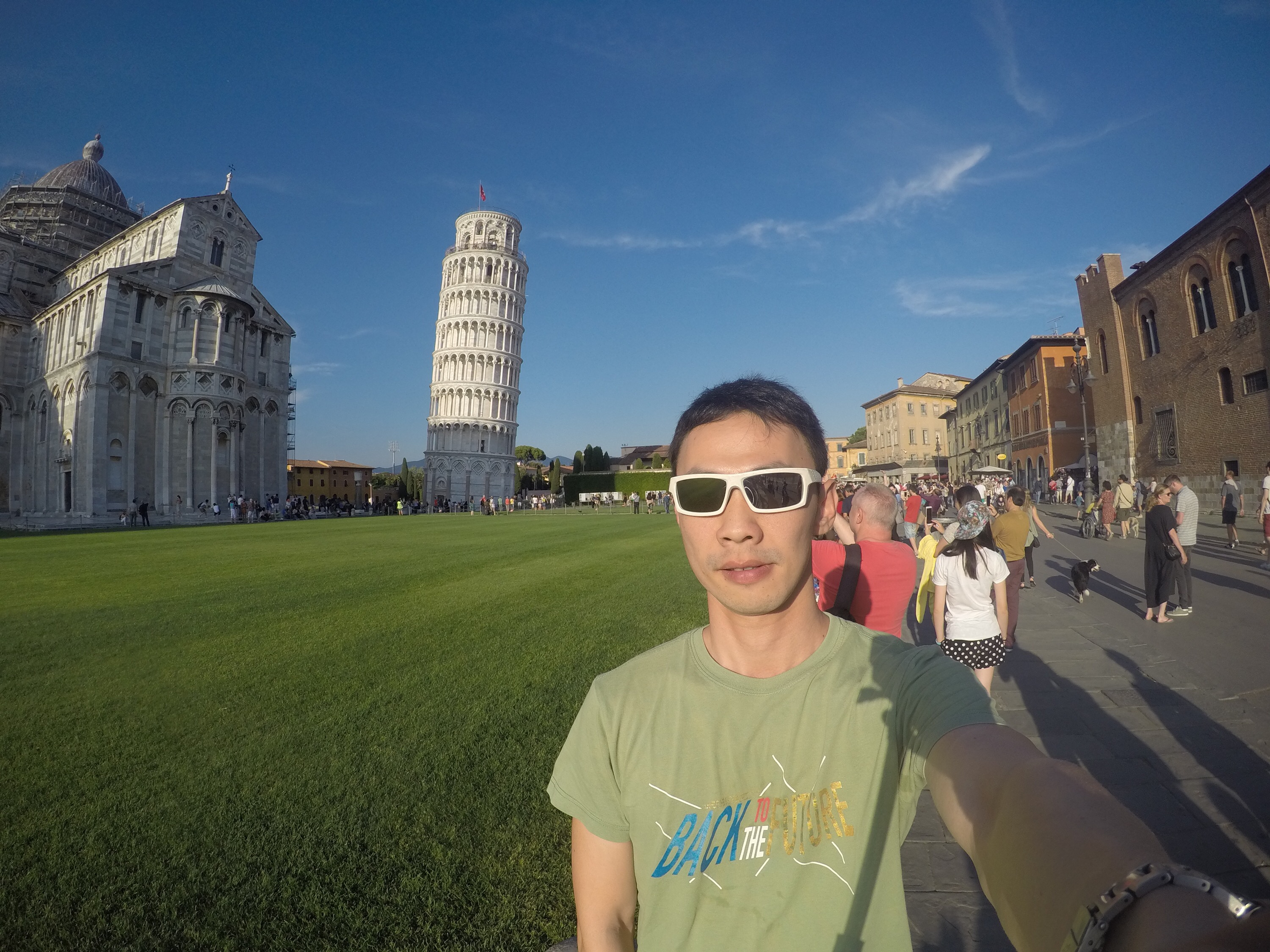 Leaning tower of Pisa!!!