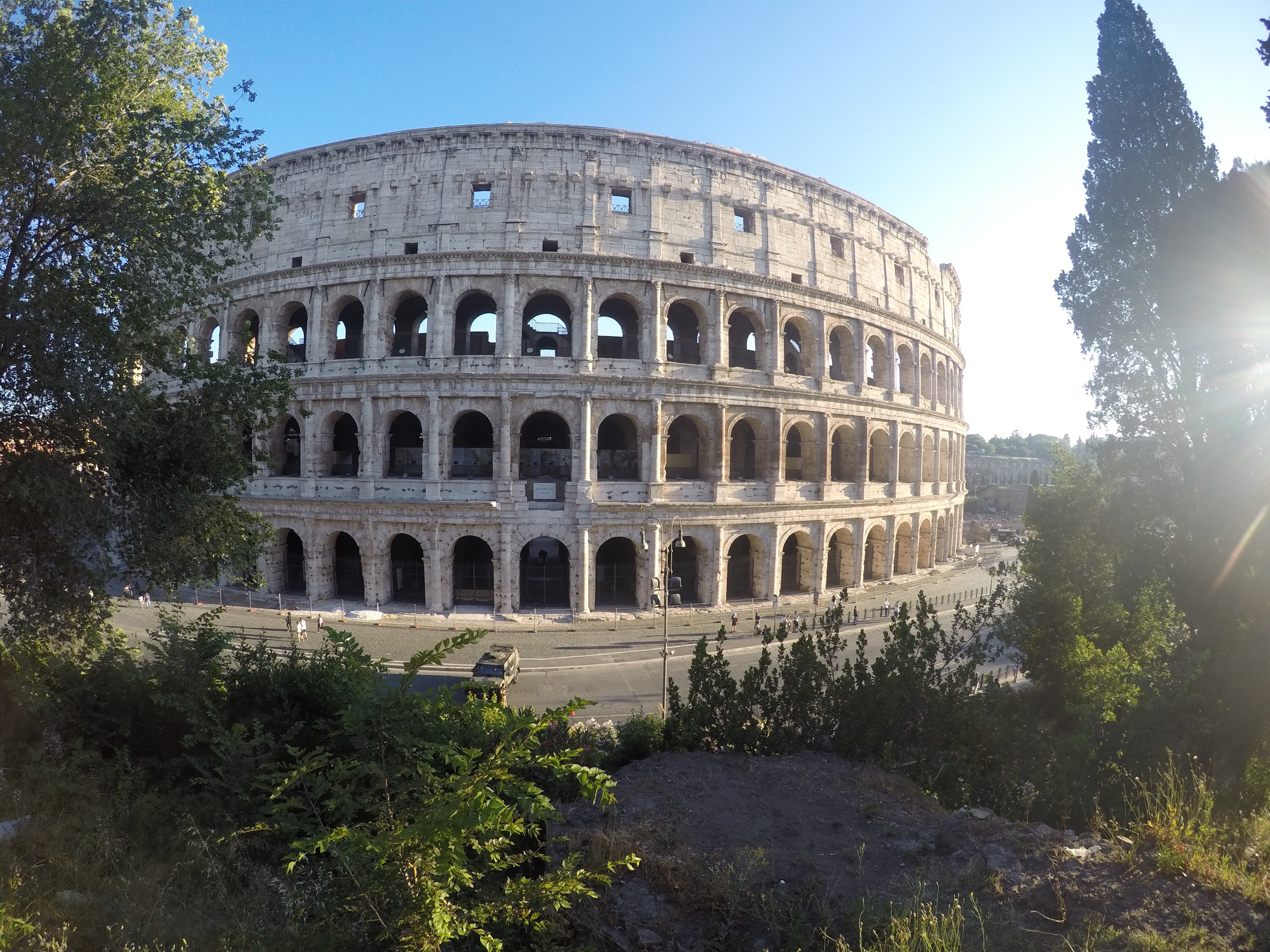 Visiting the colosseum!!!