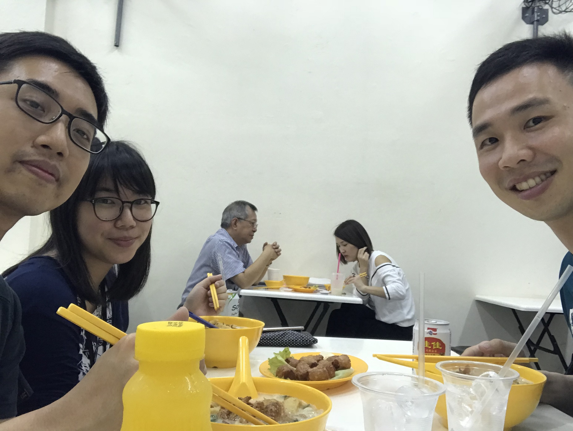 Dinner with Hanyang and Trevia!!!