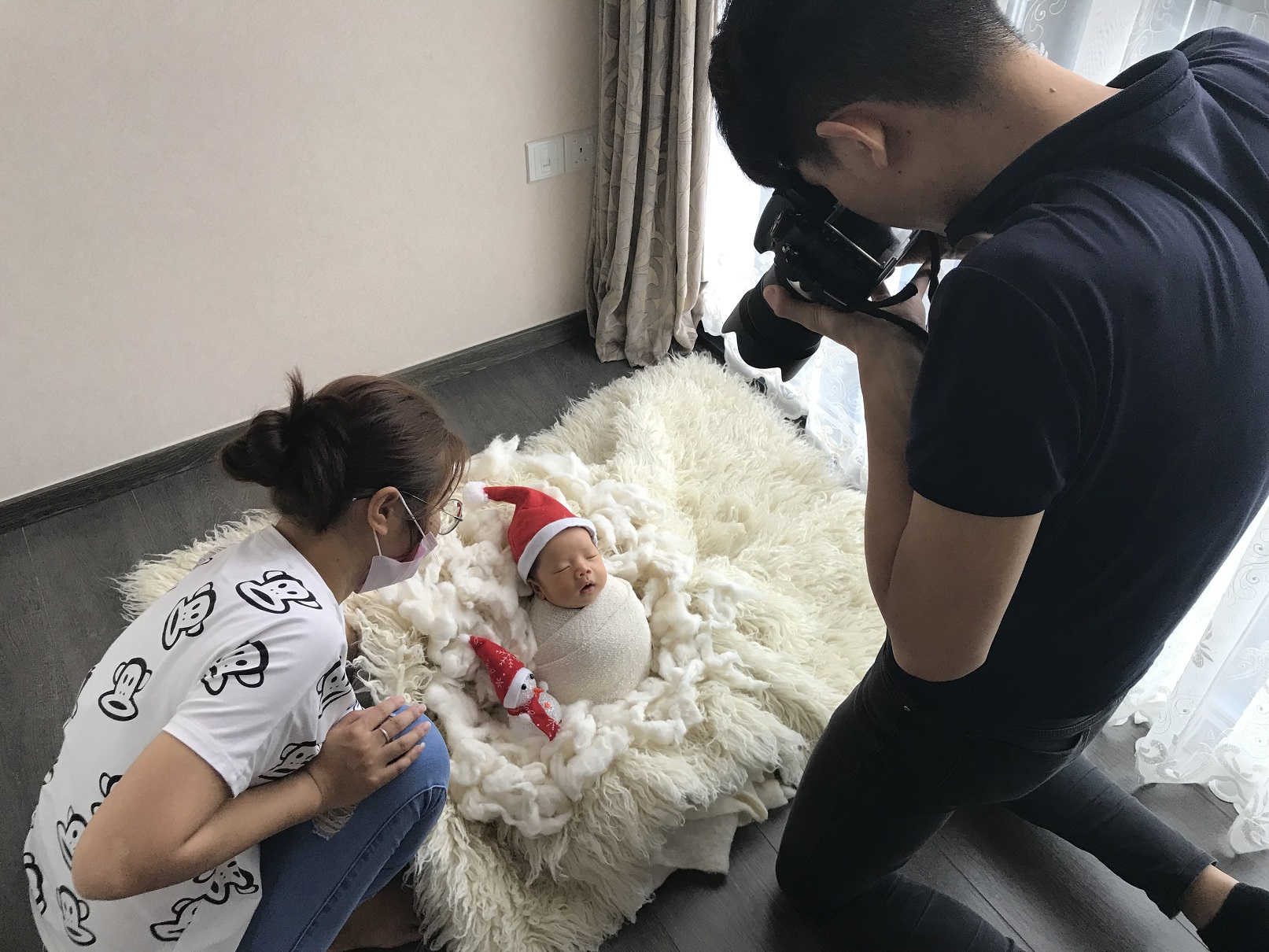 Photoshoot for Lucas!