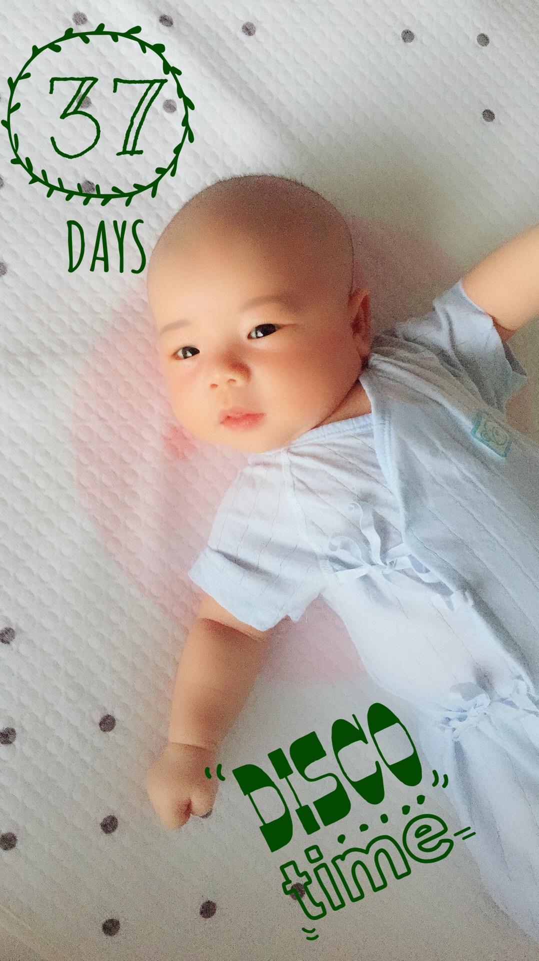 Lucas 37 days!