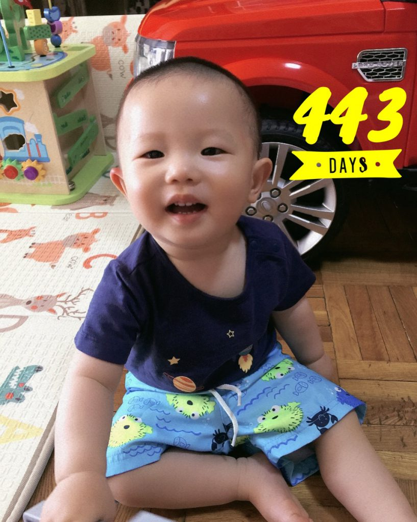 Lucas Day 443!!!