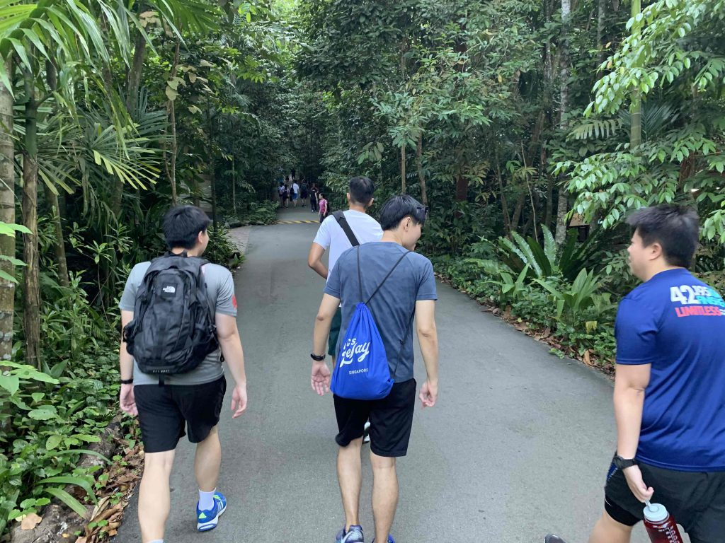 Starting out Bukit Timah Hill climb!