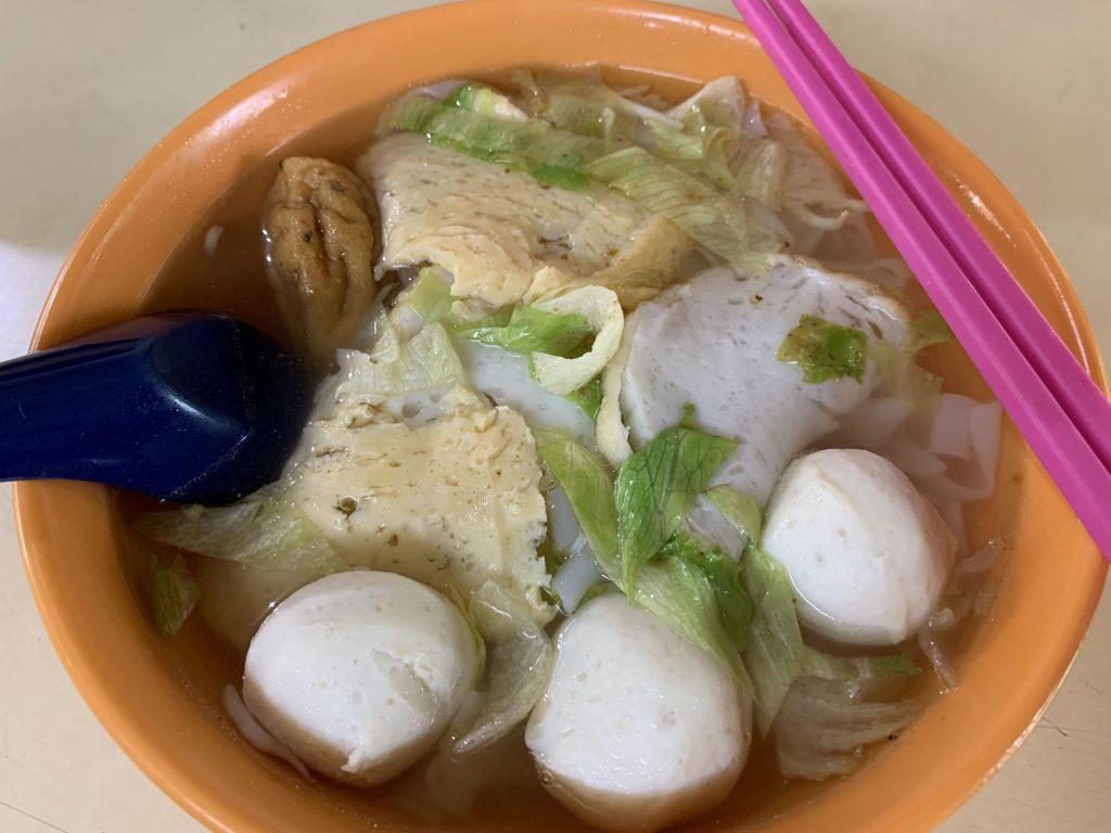 Nice fishball kway Teow!