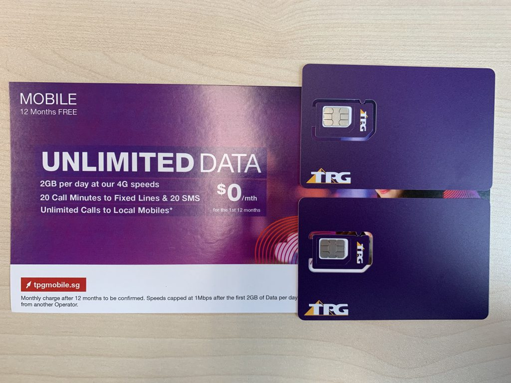 Free Sim data card for next 12 months thanks to TPG!