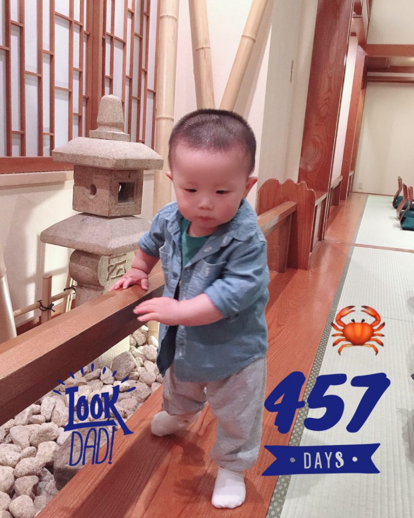 Lucas Day 457! Exploring the Crab Restaurant!