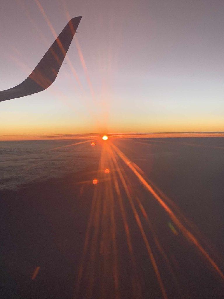 Seeing the Sunrise!