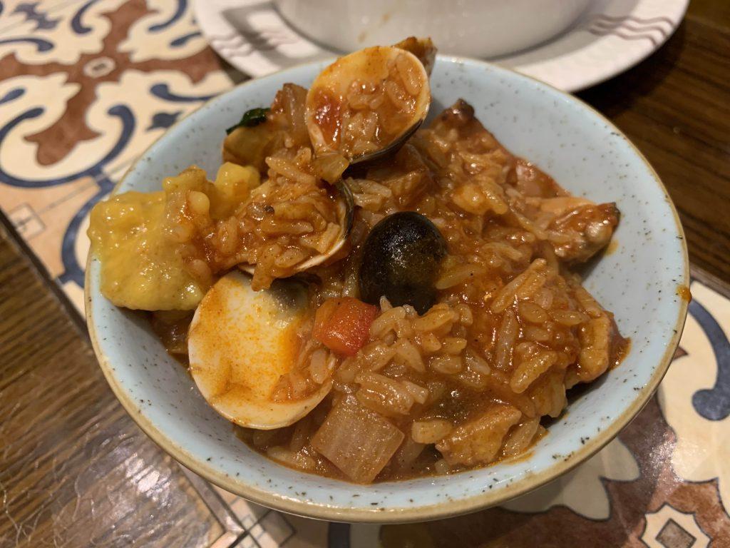 Seafood Rice!