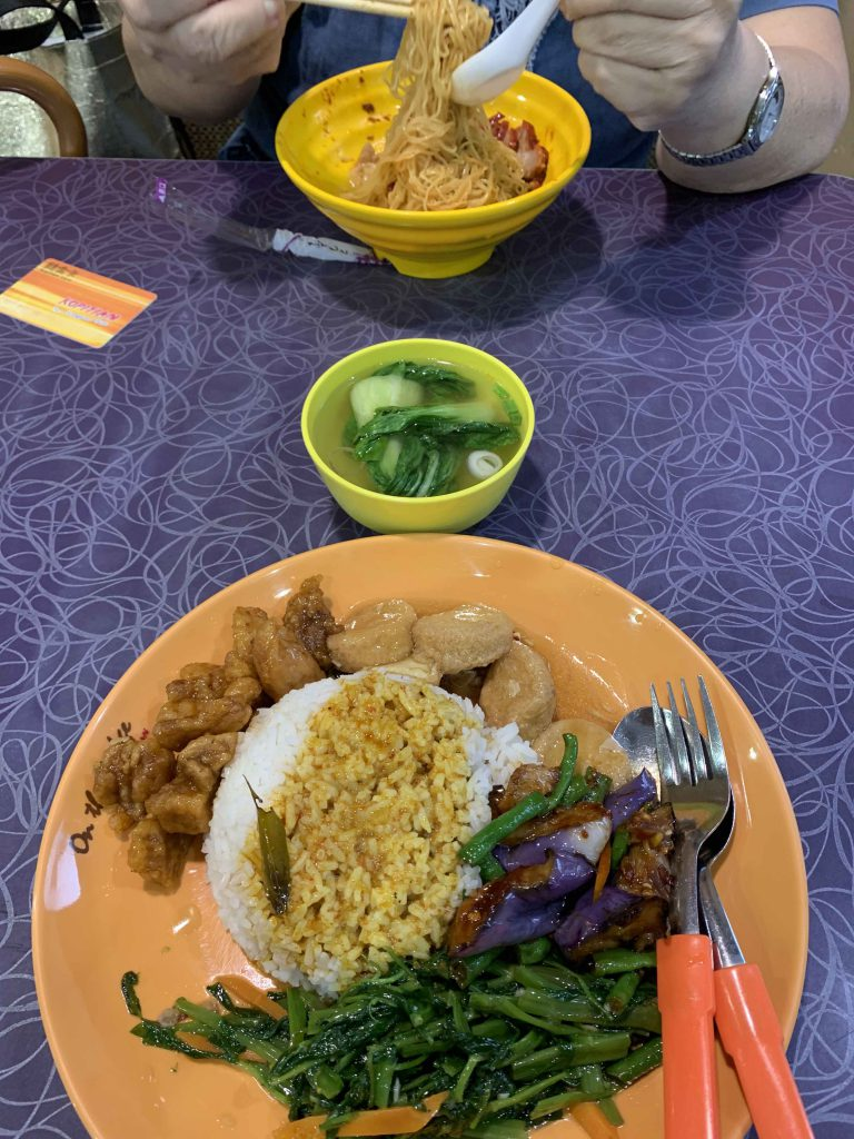 Lunch with Mum!