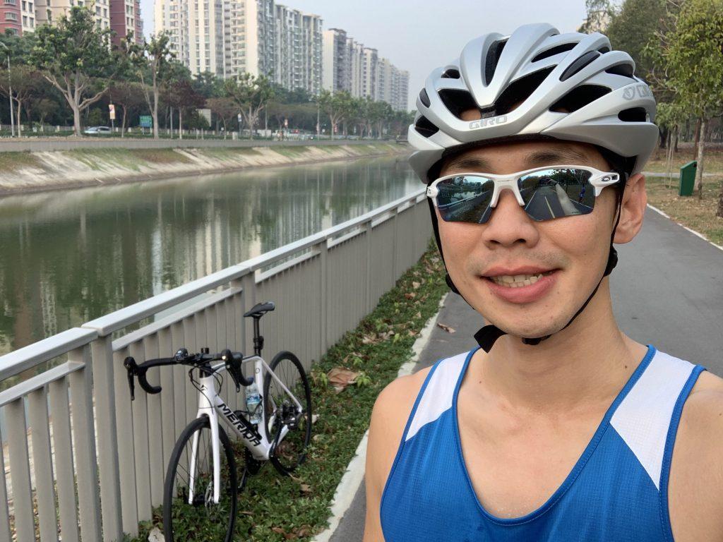 My first ride! 20km!