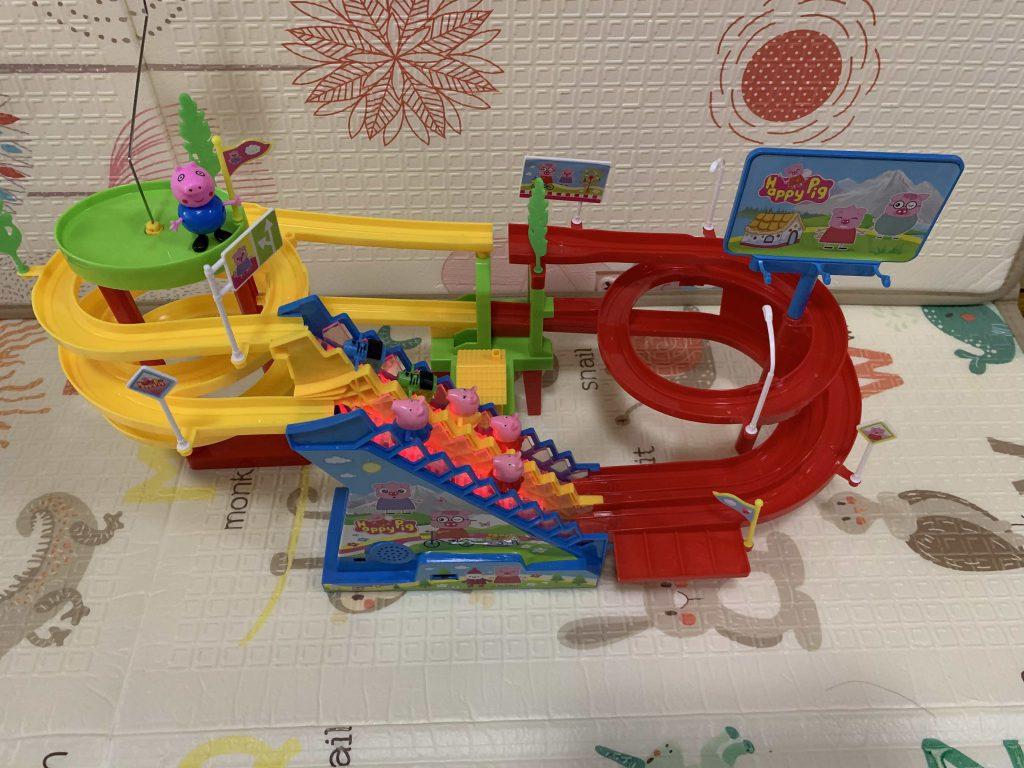 Pepa Pig Roller Coaster!