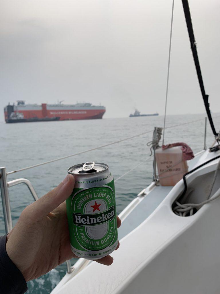 Nice beer and company!