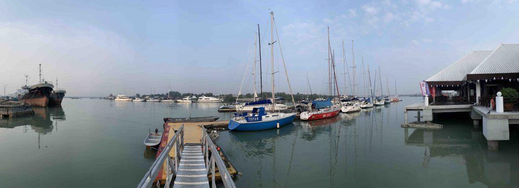 Good morning at Royal Selangor Yacht Club!