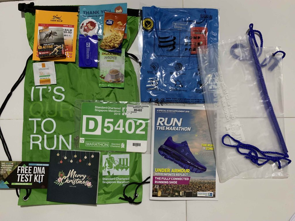 Collected the race pack for this weekend's marathon!