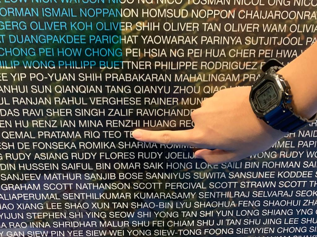 Thanks Aikee! Found my name for the Standard Chartered Singapore Marathon 2019