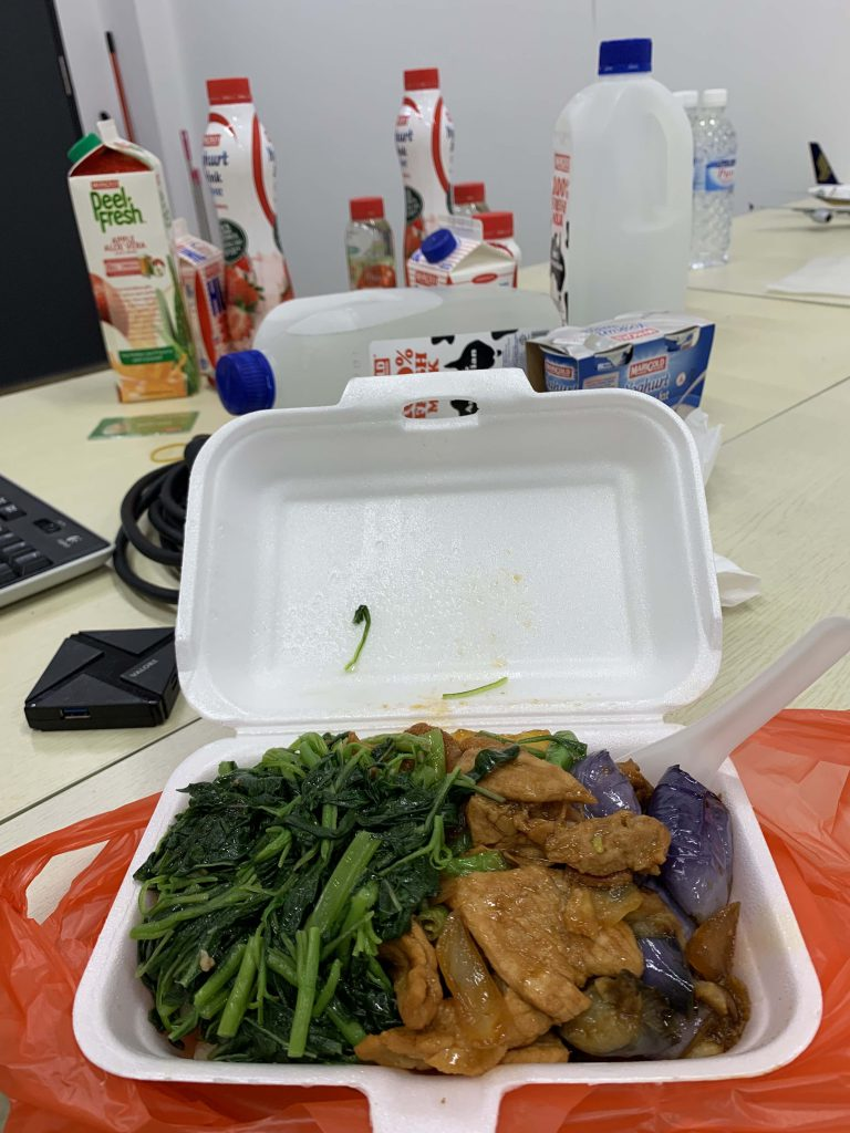 Honest Dinner in office after a vending machine service call. Need to automate another portion to make support easier!