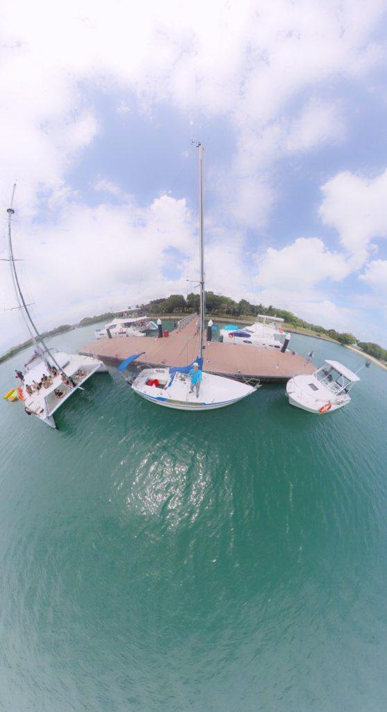 Selfie on the island!