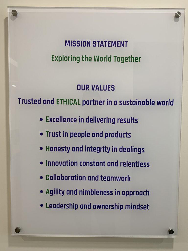 Company Mission...