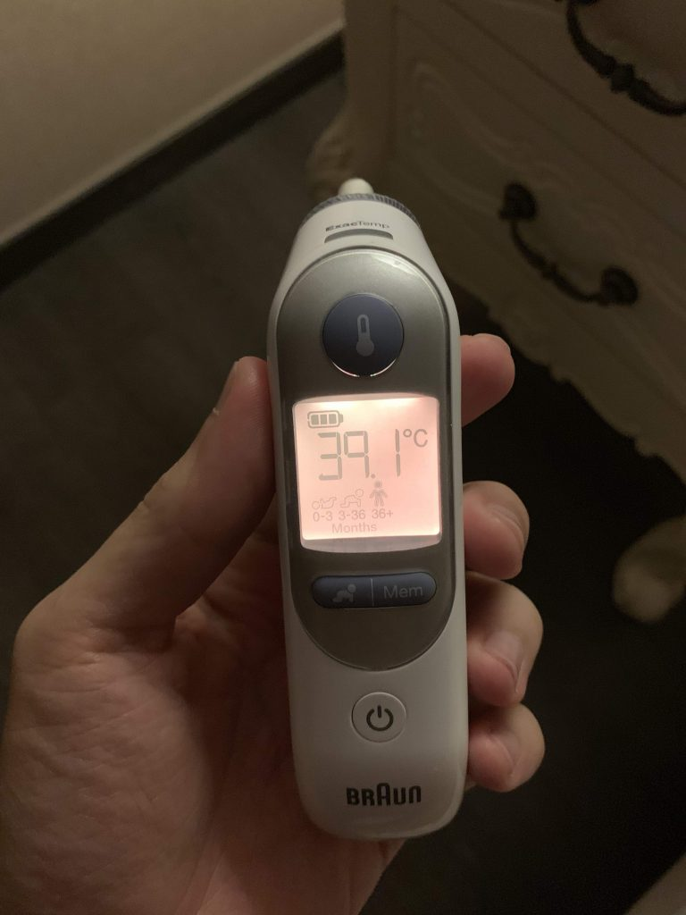 39.1 degrees!