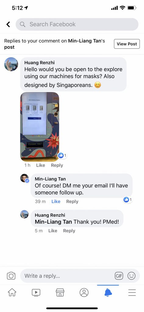 Min-Liang Replied to my post! wow!