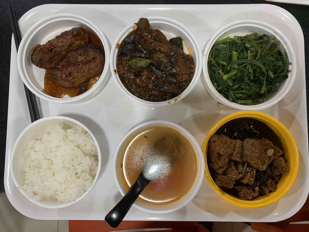 Lunch in canteen!