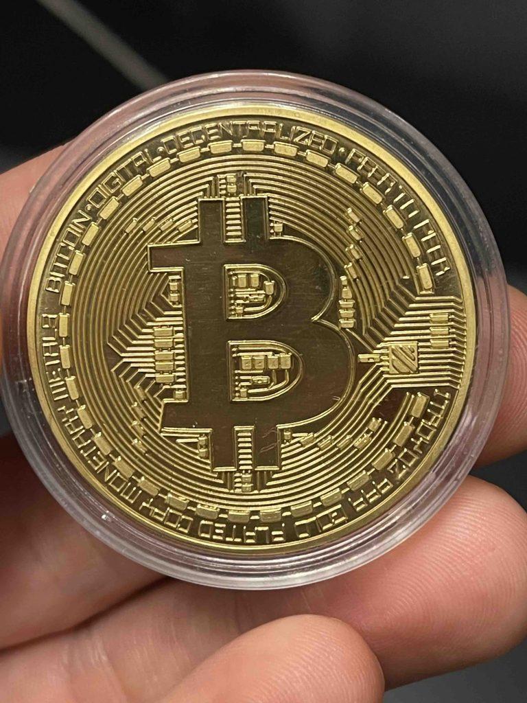 Physical Bitcoin!